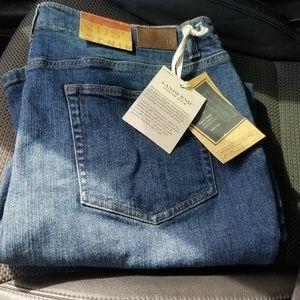 Lands End stretch denim jeans - obo